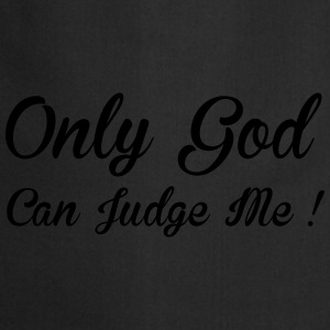 God Can Judge Tee shirts - Tablier de cuisine
