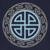 Celtic Shield Knot, Protection, Four Corner, Norse Camisetas - Camiseta ecológica hombre
