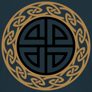 Celtic Shield Knot, Protection, Four Corner, Norse Gensere - T-skjorte for menn