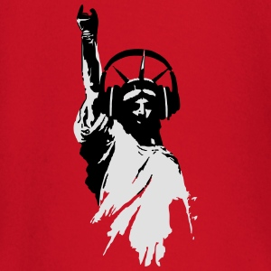 DJ Statue of Liberty Headphone Vector T-Shirts - Baby Long Sleeve T-Shirt