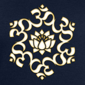 Om Lotus, Buddhism, Yoga, Meditation, spiritual T-Shirts - Men's Sweatshirt by Stanley & Stella
