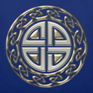 Celtic shield knot, Protection Amulet, Viking Tröjor - Tygväska