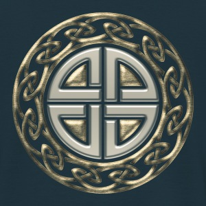 Celtic shield knot, Protection Amulet, Viking Sweatshirts - Herre-T-shirt