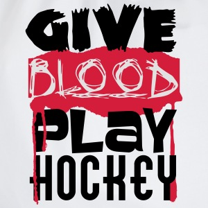 Give Blood, play Hockey T-skjorter - Gymbag