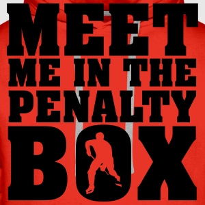 Meet me in the penalty Box T-shirts - Premiumluvtröja herr