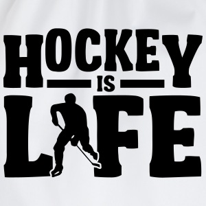Hockey is Life T-Shirts - Drawstring Bag