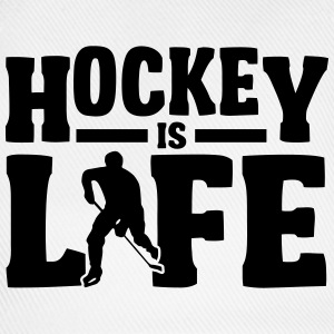 Hockey is Life T-skjorter - Baseballcap