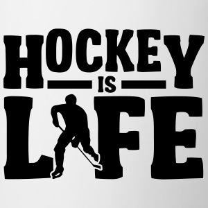Hockey is Life T-Shirts - Tasse