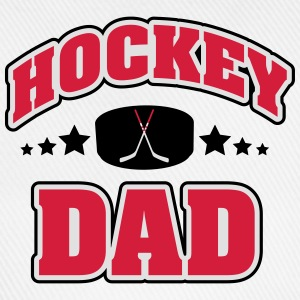 Hockey Dad T-skjorter - Baseballcap