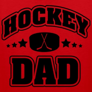 Hockey Dad T-shirts - Mannen Premium tank top