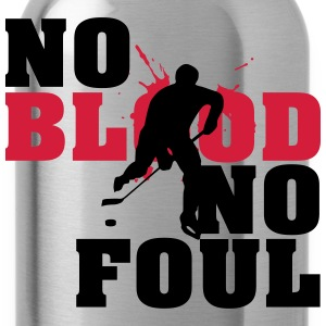 Hockey: No blood no foul T-Shirts - Trinkflasche