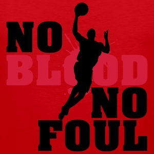 Baskettball: No blood no foul Koszulki - Tank top męski Premium