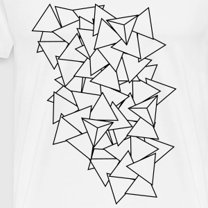triangles Pullover & Hoodies - Männer Premium T-Shirt