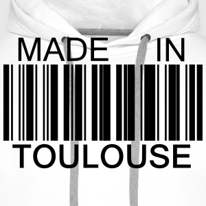 Made in Toulouse Tee shirts - Sweat-shirt à capuche Premium pour hommes