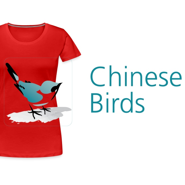 Chinese Birds Woman's T-shirt
