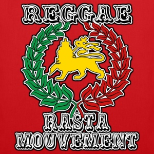 reggae rasta mouvement Tee shirts - Tote Bag