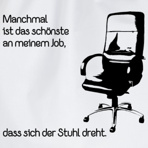 Büro Job T-Shirts - Turnbeutel