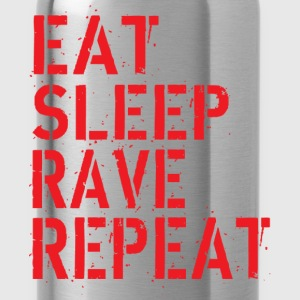 Eat Rave Sleep T-Shirts - Trinkflasche
