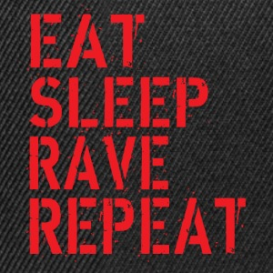 Eat Rave Sleep Tee shirts - Casquette snapback