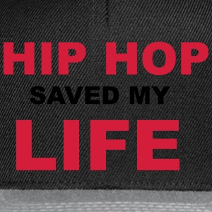 Hip Hop Saved My Life T-shirts - Snapbackkeps