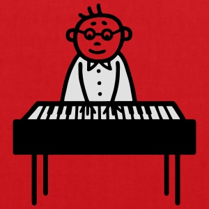 Piano Player - pianiste - V2 Tee shirts - Tote Bag