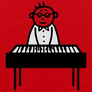 Piano Player - pianiste - V2 Tee shirts - Débardeur Premium Homme