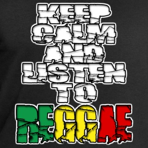 keep calm and listen to reggae T-Shirts - Men's Sweatshirt by Stanley & Stella