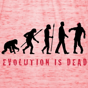 evolution_of_man_zombie_102013_b_2c T-Shirts - Frauen Tank Top von Bella