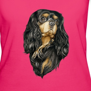 Black and Tan Cavalier Bags & Backpacks - Women's Organic T-shirt