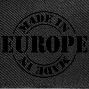 made_in_europe Shirts - Snapback Cap
