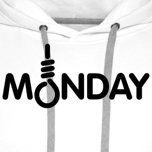 Monday Tee shirts - Sweat-shirt à capuche Premium pour hommes