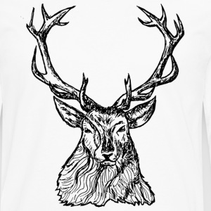cerf renne Tee shirts - T-shirt manches longues Premium Homme