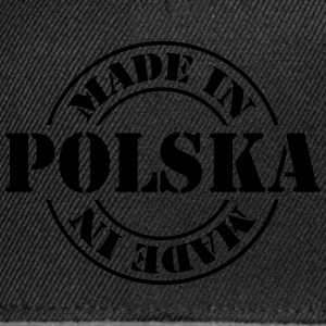 made_in_polska_m1 Camisetas - Gorra Snapback