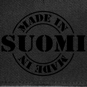 made_in_suomi_m1 Camisetas - Gorra Snapback