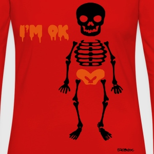 Skeleton #2 Shirts - Women's Premium Longsleeve Shirt