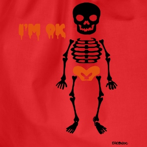 Skeleton #2 Shirts - Gymtas