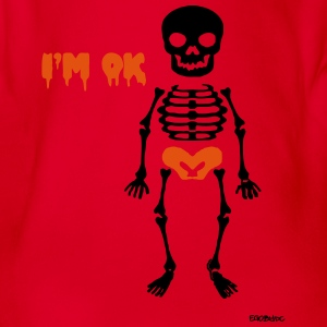 Skeleton #2 T-Shirts - Baby Bio-Kurzarm-Body
