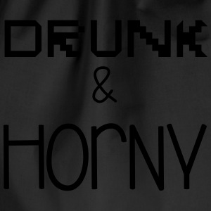 Drunk & Horny Gensere - Gymbag