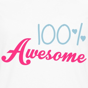 100% Awesome T-Shirts - Men's Premium Longsleeve Shirt