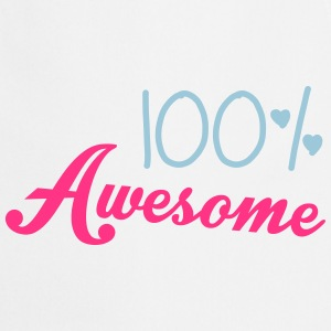 100% Awesome T-shirts - Forklæde