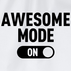 Awesome Mode T-Shirts - Turnbeutel