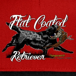 flat_coated_retriever T-Shirts - Snapback Cap