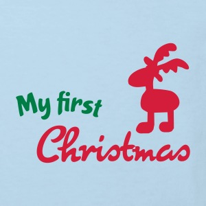 my first christmas baby - Kinder Bio-T-Shirt