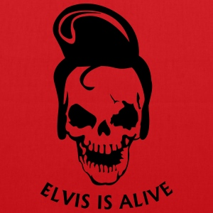 Elvis is alive T-shirts - Tas van stof