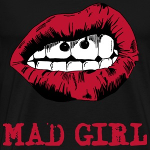 mad girl Pullover & Hoodies - Männer Premium T-Shirt