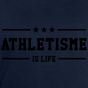 Athlétisme is life Tee shirts - Sweat-shirt Homme Stanley & Stella