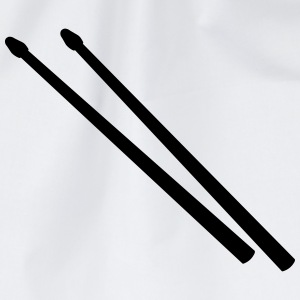 Drum Sticks T-Shirts - Drawstring Bag