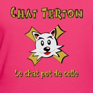 Chat Terton version 2 Langarmshirts - Frauen Bio-T-Shirt