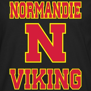 Sweat Normandie Viking for men face - T-shirt manches longues Premium Homme