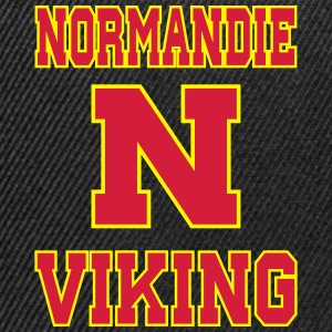 Sweat Normandie Viking for men face - Casquette snapback